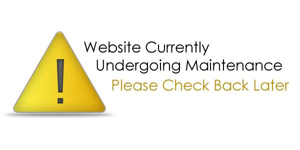 Risultati immagini per site under maintenance